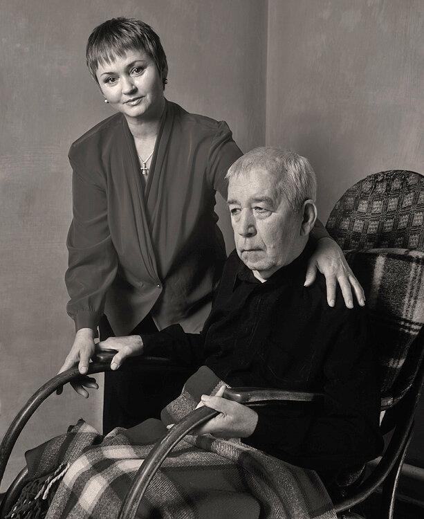 Борислав Брондуков с женой Екатериной.  Виталия Запорожченко