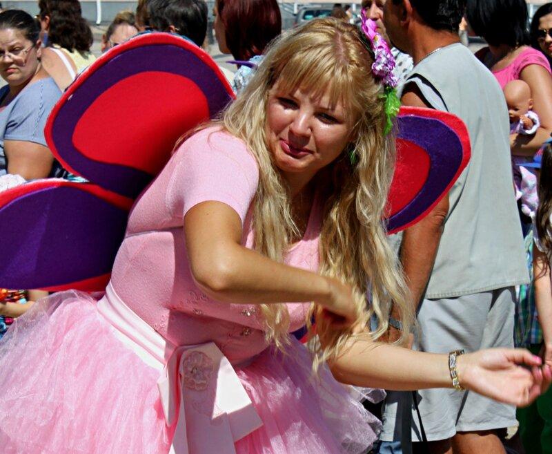 Танцующая бабочка