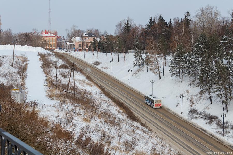 Тобольск. Начало зимы