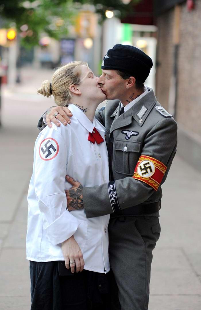 Неонацистская парочка из США: Если у нас родится девочка, мы назовем ее Евой Браун (11)