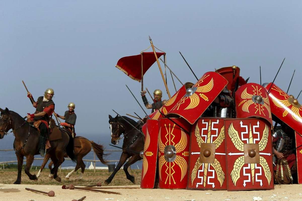 Легионеры армии Древнего Рима: Современный вариант попытки захвата острова Мальта (10)