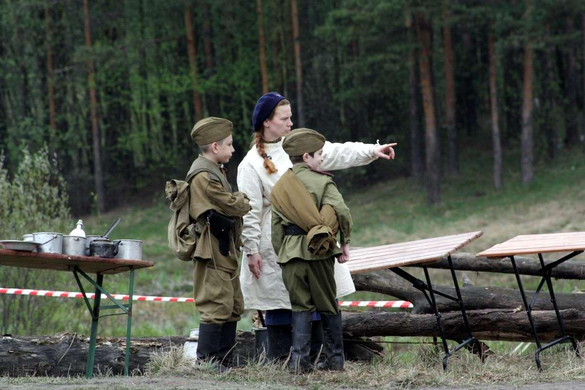 Забавные моменты из жизни военных реконструкторов (107)