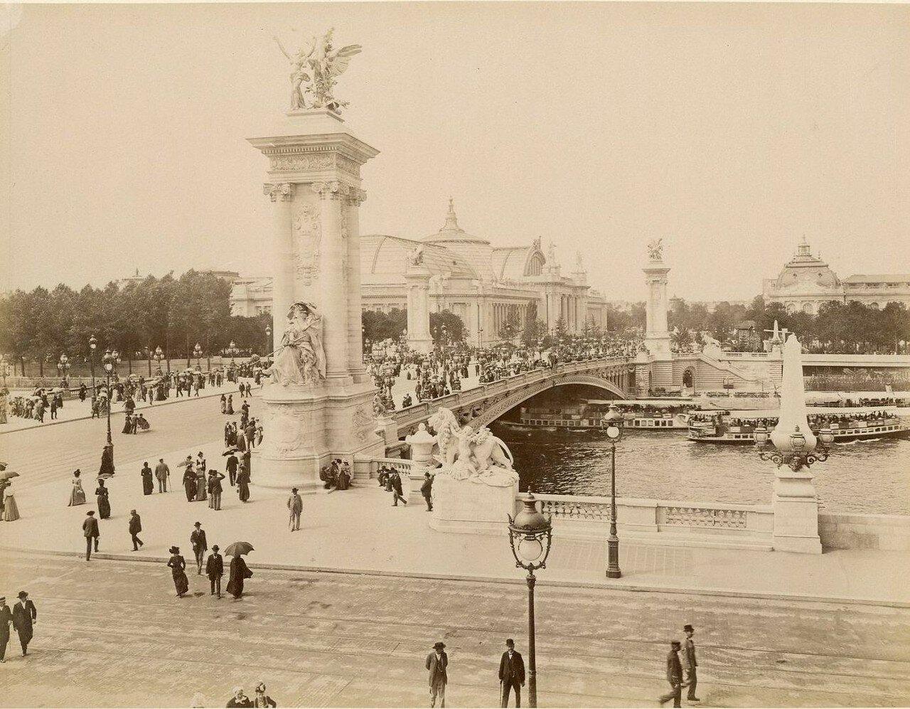 19. Мост Александра III и Новый дворец