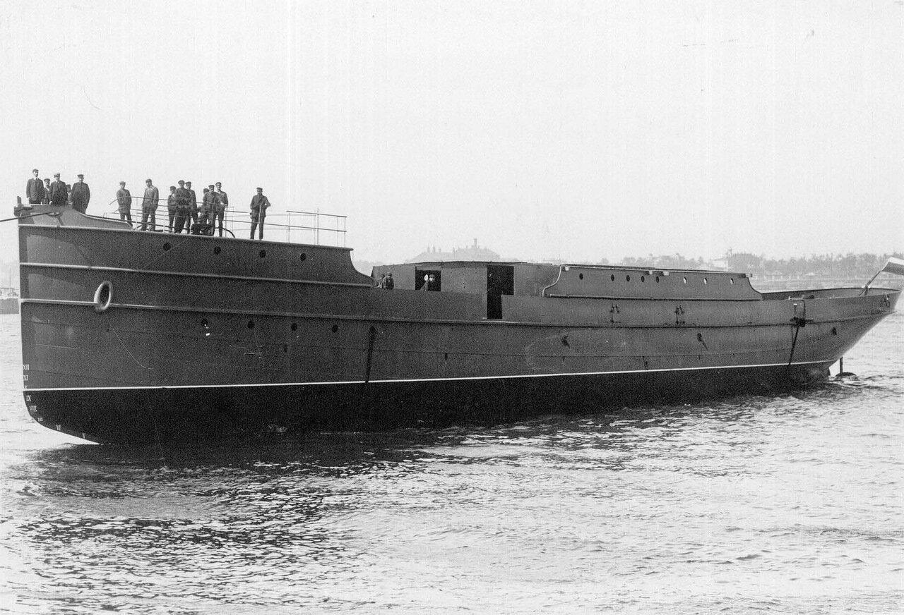 17. Корабль, спущенный на воду. 1912