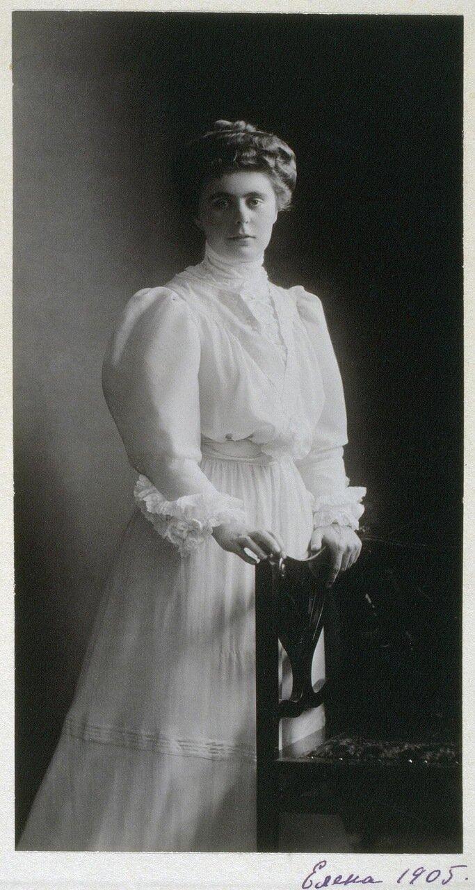 Портрет великой княгини Елены Владимировны. 1905