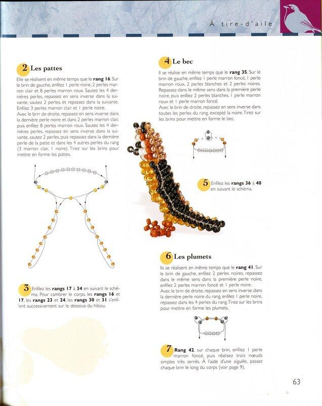 2 Книга животных из бисера 3D схемы продолжение 2.