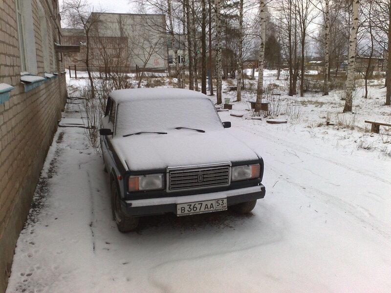снег на пасху