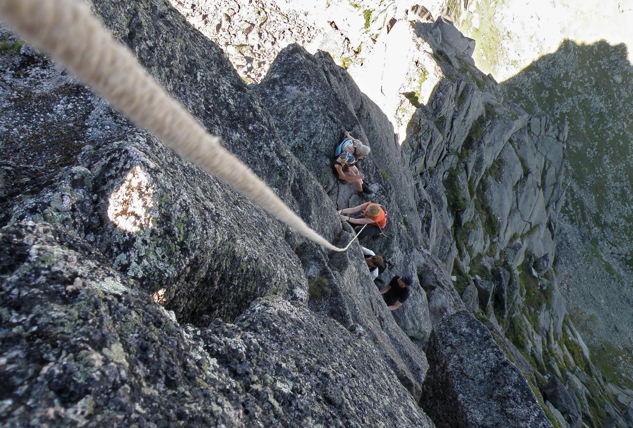 Путь к вершине. Вертикальный участок