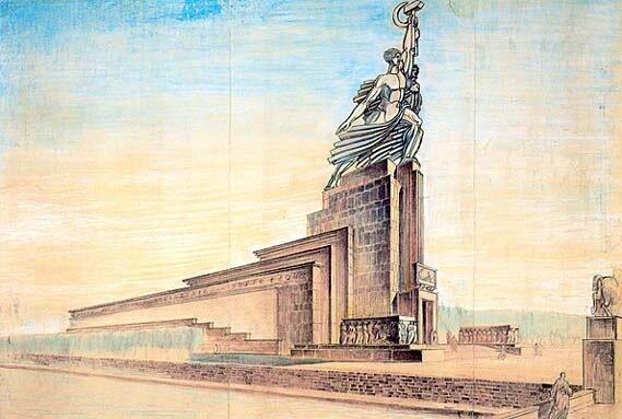 Всемирная выставка в Париже, 1937: битва идей