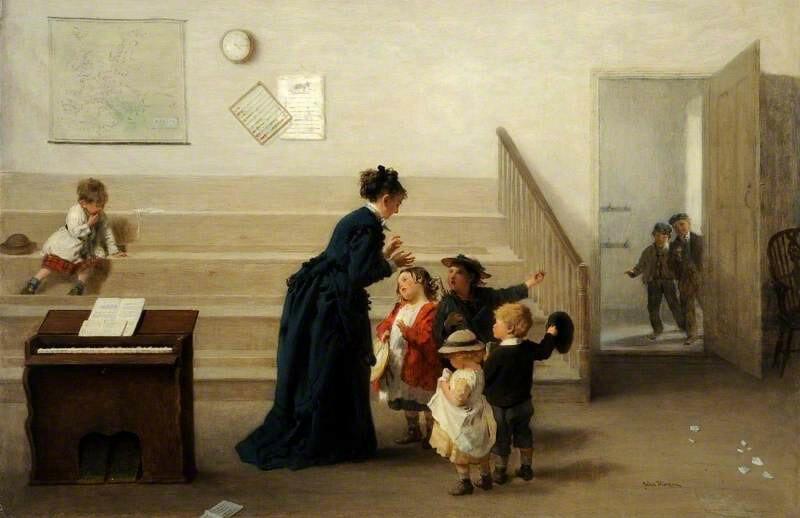 John Morgan - Interior of a Village School.jpg