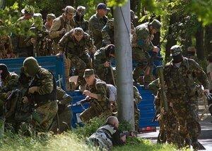 В Донецке вчера былиa ранены 15 мирных жителей