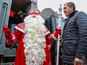 Русский Дед Мороз в Ингушетии