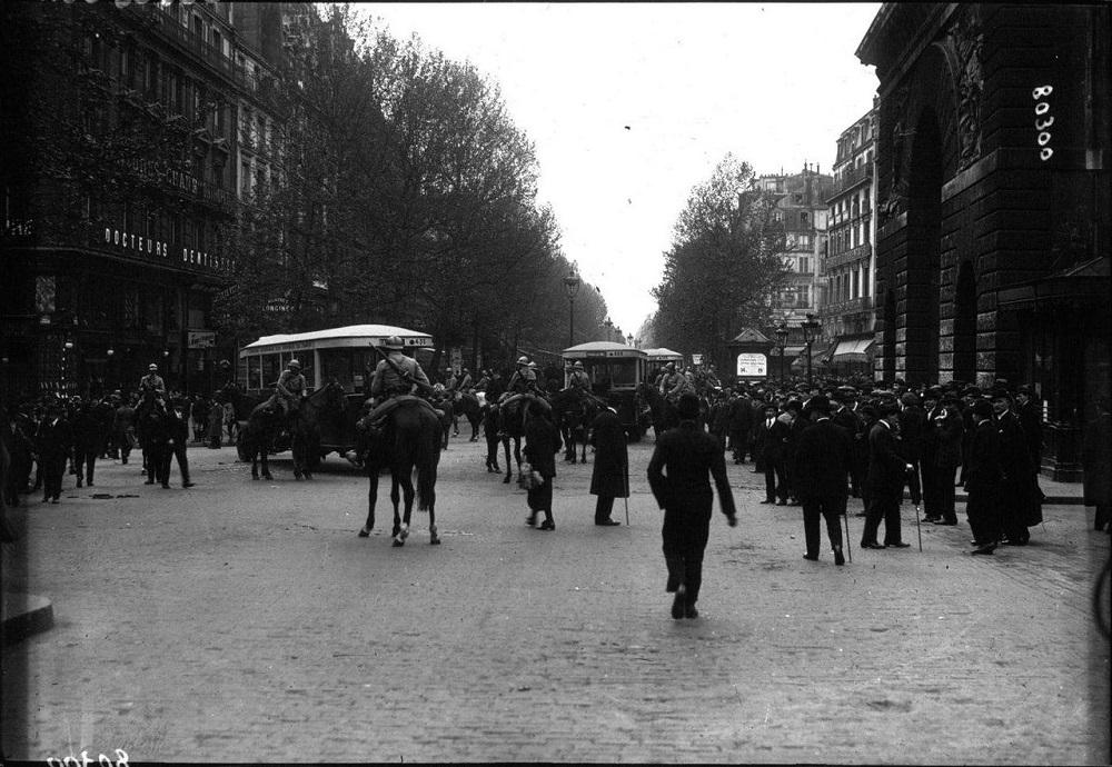 Первомай в Париже 1920