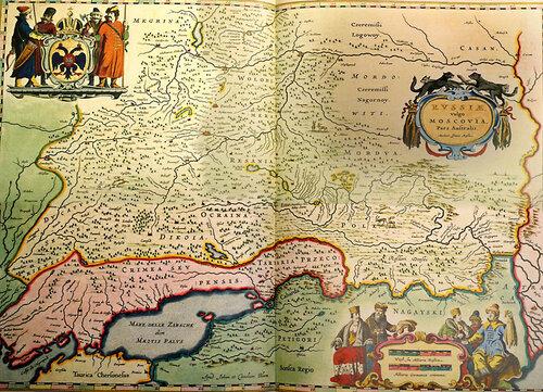 Карта сер. 17 века