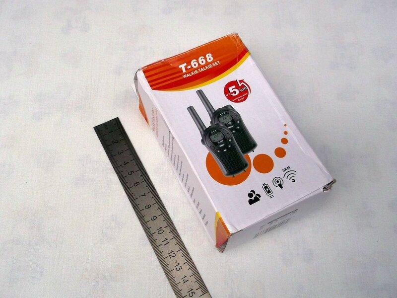 ChinaBuye: Комплект из двух компактных раций