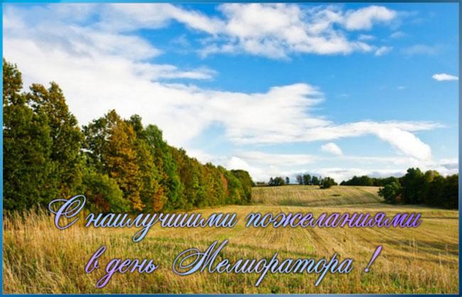 С наилучшими пожеланиями в день Мелиоратора! открытки фото рисунки картинки поздравления