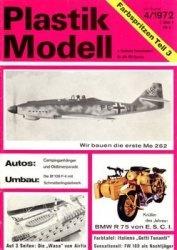 Журнал Plastik Modell 1972-04