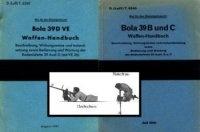 Книга Bola 39 B und C, Bola 39 D VE  Waffen-Handbuch; Bola 33 E & H Bodenlafette.