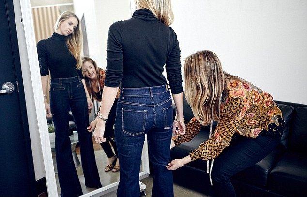 Попа, под которую шьются все модели джинсов