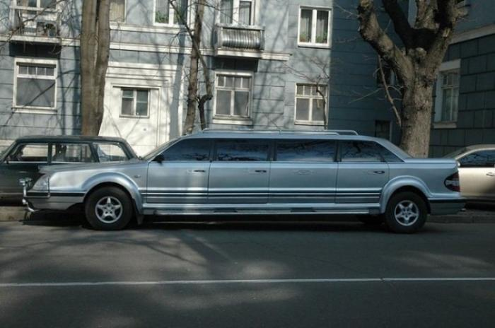 Эксклюзивный украинский лимузин