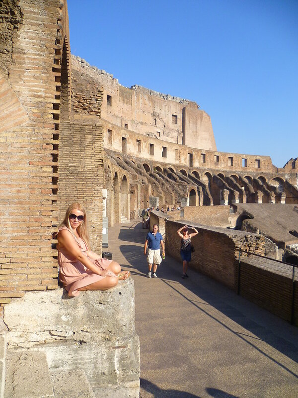 Италия. Рим, Колизей (Italy. Rome, The Colosseum)