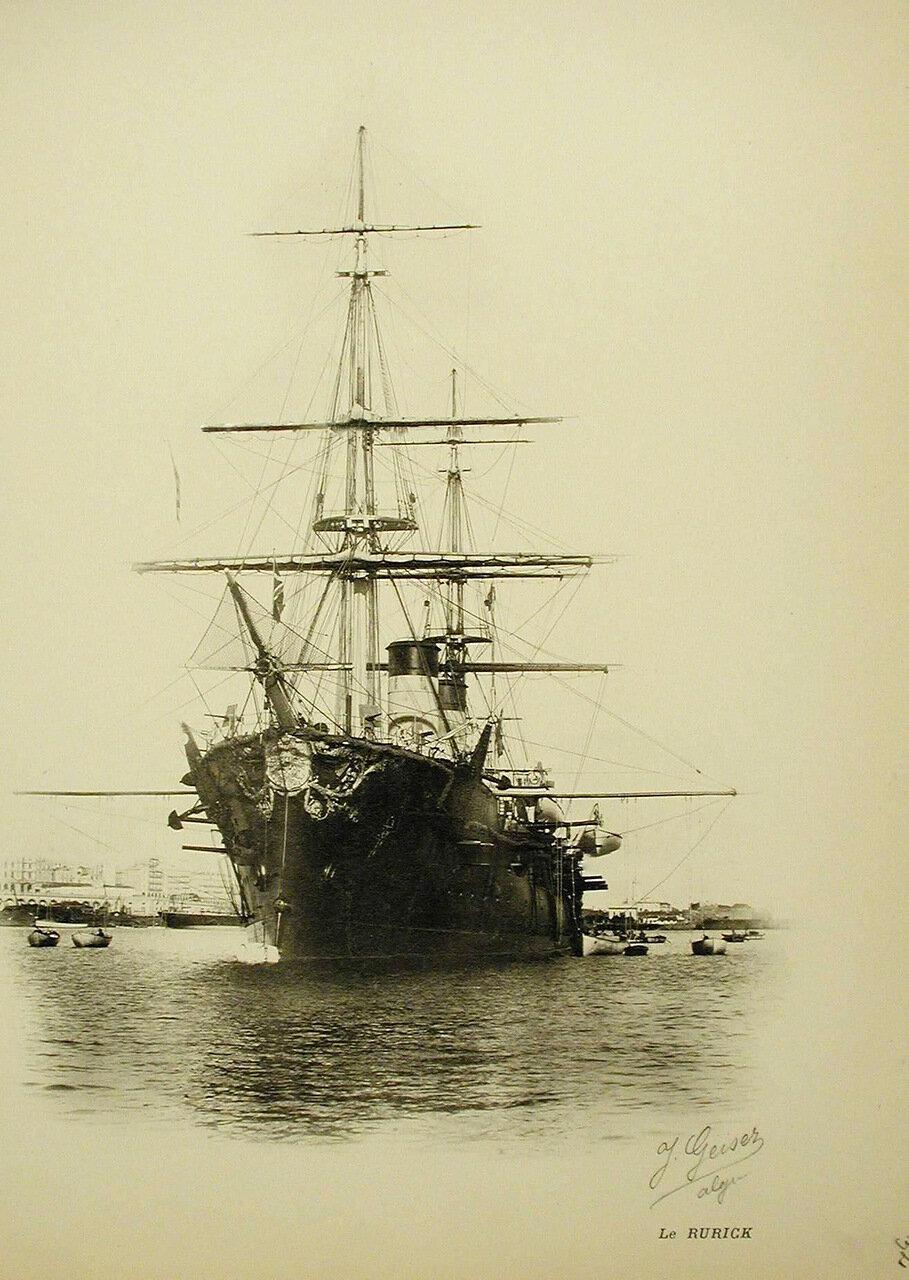 06. Вид крейсера «Рюрик»
