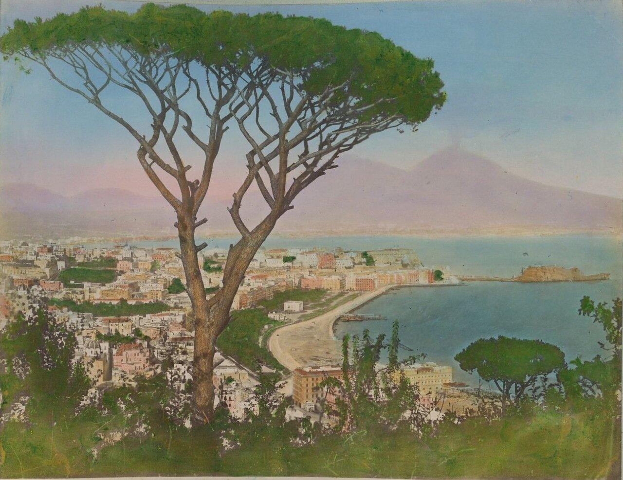 Вид Неаполя от могилы Вергилия