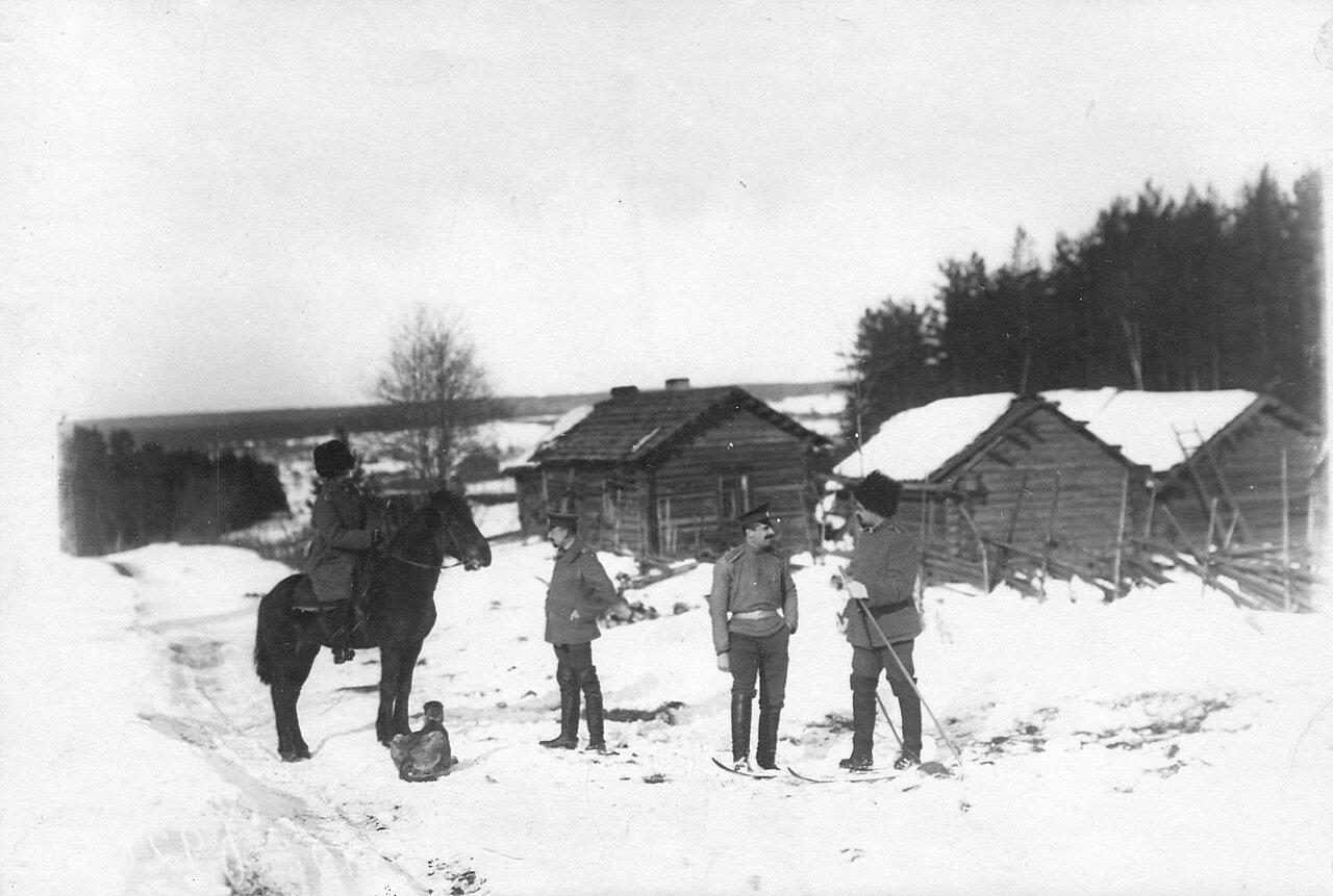 12. Группа офицеров стражи. 1908