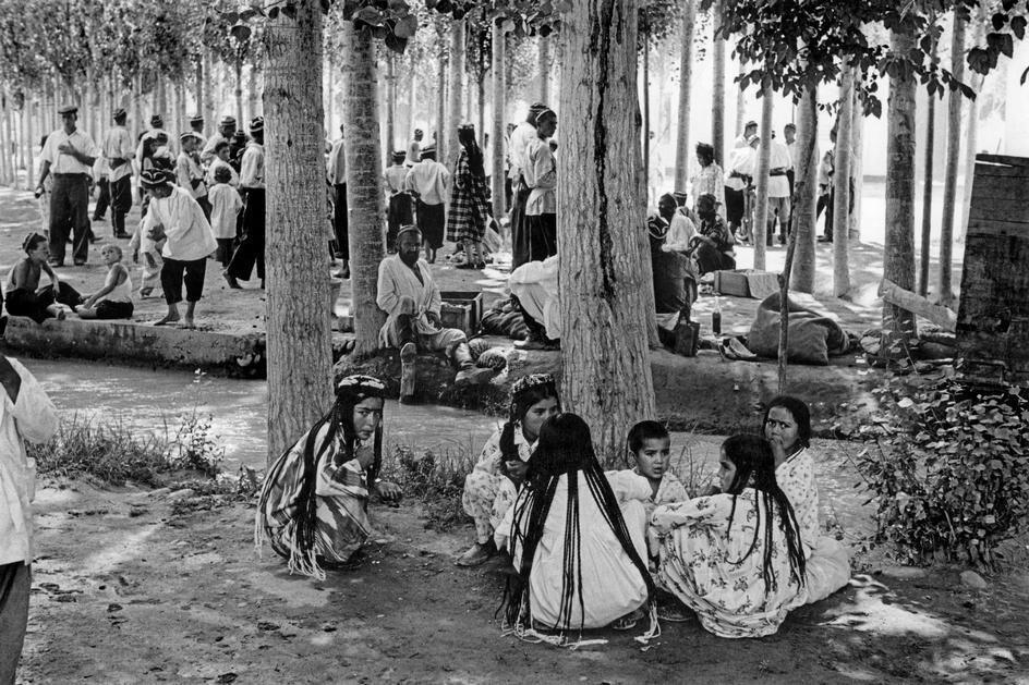 1954. Узбекистан. В колхозе