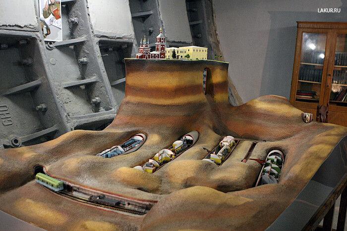 макет бункер ЗКП
