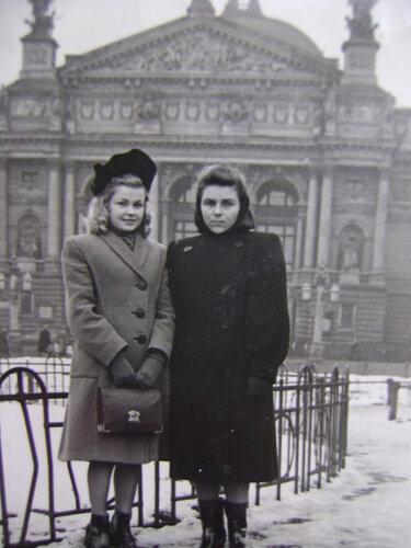 Шляпка. 1948 год.