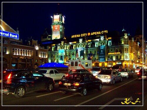 Киев | Ночной Крещатик