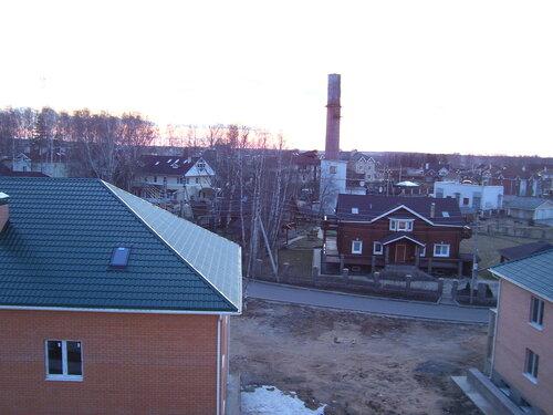 Крыши на закате