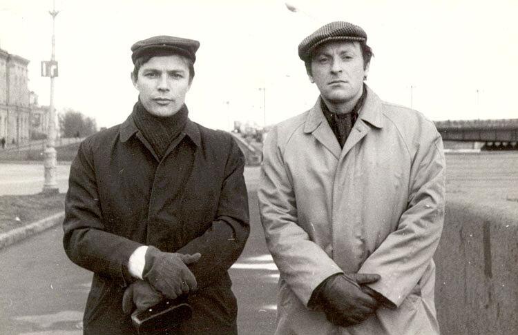 Прыгунов и Бродский. 1969