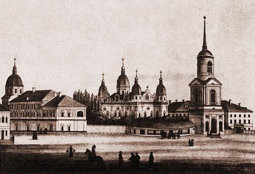 Братский монастырь в первой половине XIX века