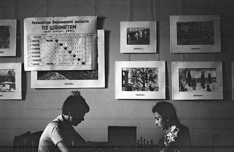 Шахматный турнир среди девушек