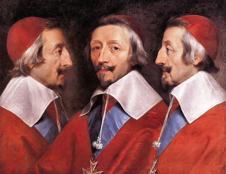 Филипп де Шампань. Кардинал Ришелье.1637 г. годы жизни 1585-1642 г. г.