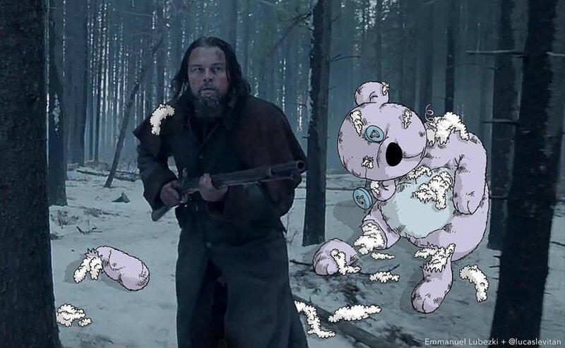 Второй медведь будет посложнее, мистер Лео.jpg