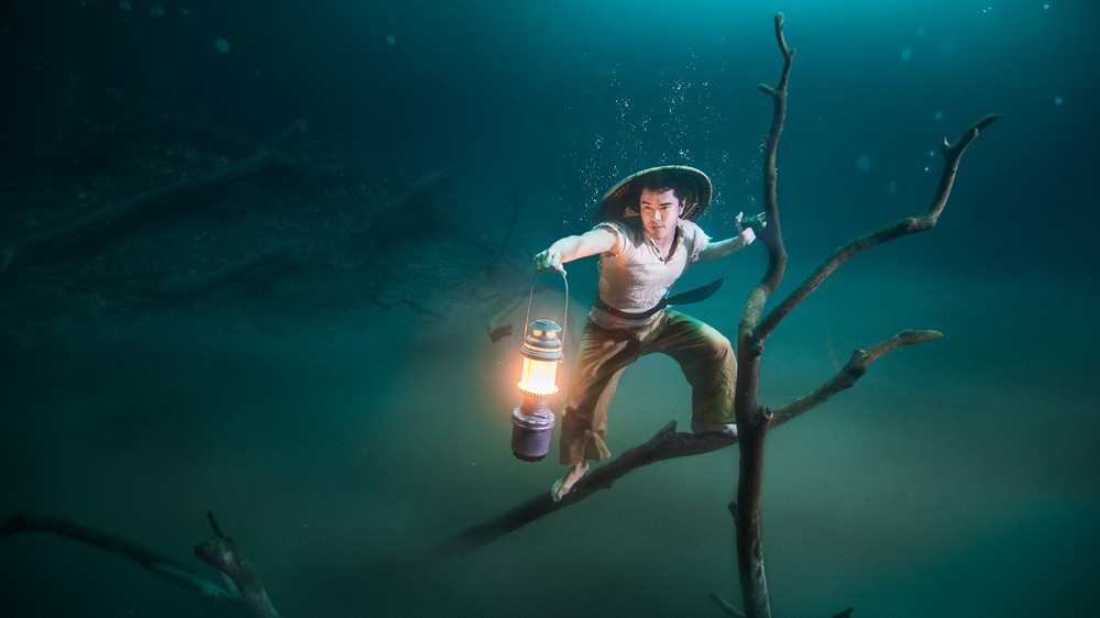 """VonWong""s Underwater Fisherman"""