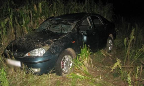 Пьяный водитель сбил троих детей в Черниговской области, погиб семилетний мальчик. ФОТОрепортаж