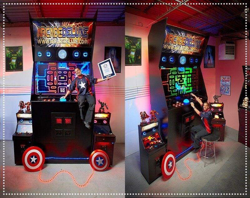 Самый большой в мире игровой автомат по версии Книги рекордов Гиннесса
