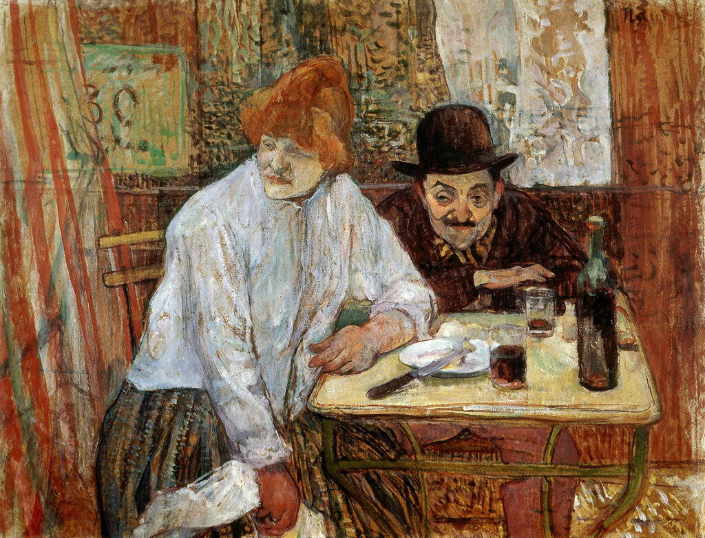 The Last Crumbs (also known as A la Mie) - 1891 - Museum of Fine Arts - Boston - Painting oil on cardboard.jpg