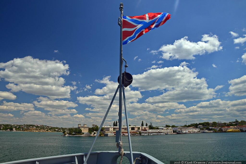 Адмирал Эссен пришёл в Севастополь