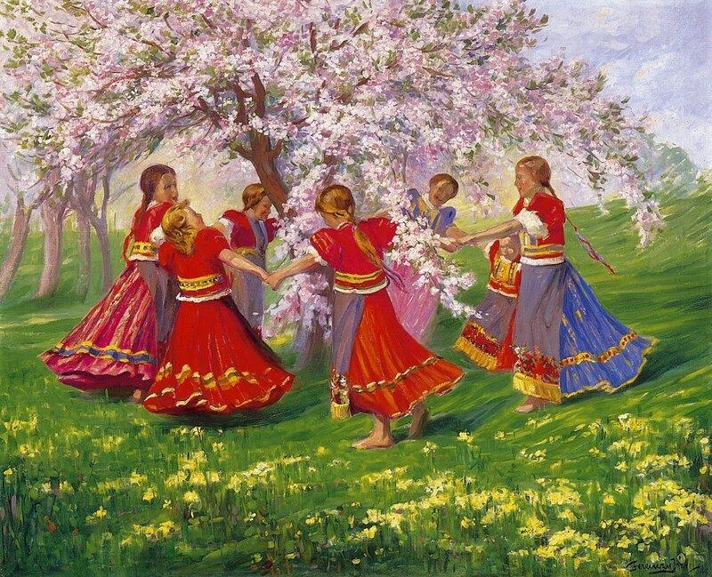 Открытка русская народная песня, смешных картинках спасибо