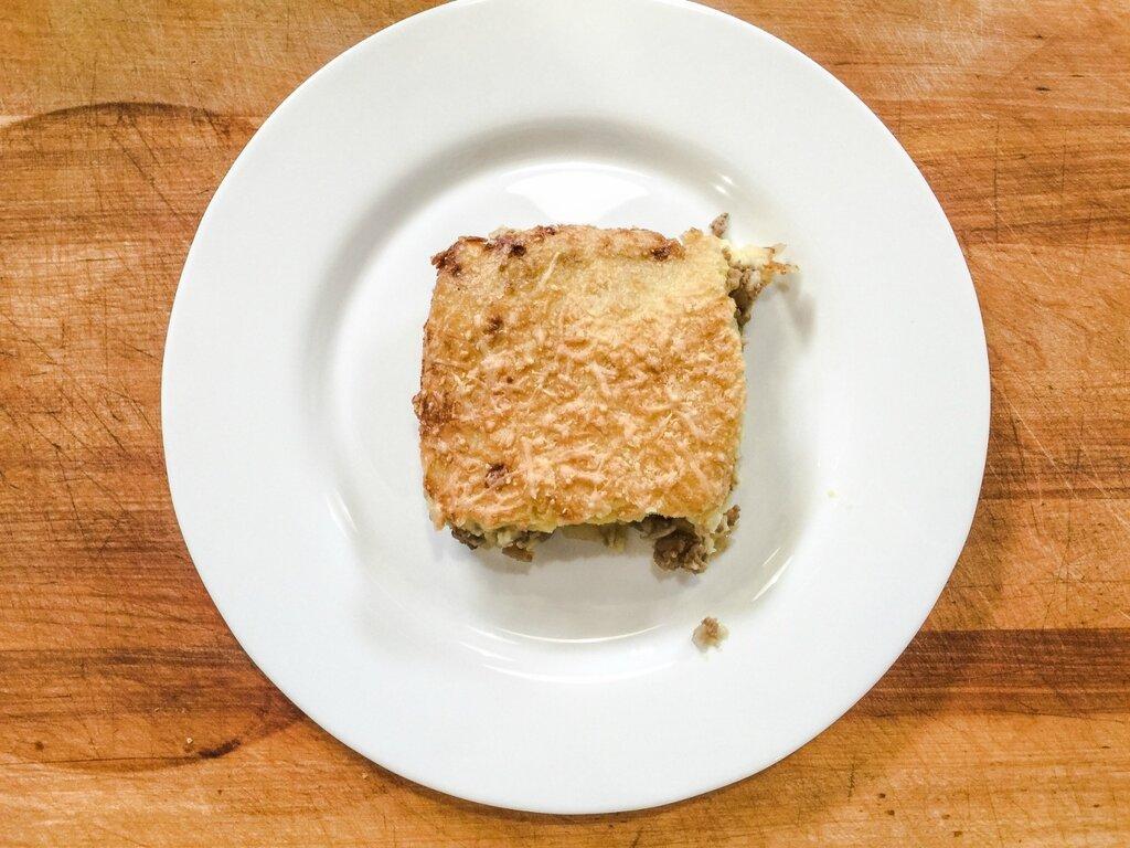 Рецепт запеканки с отварным картофелем