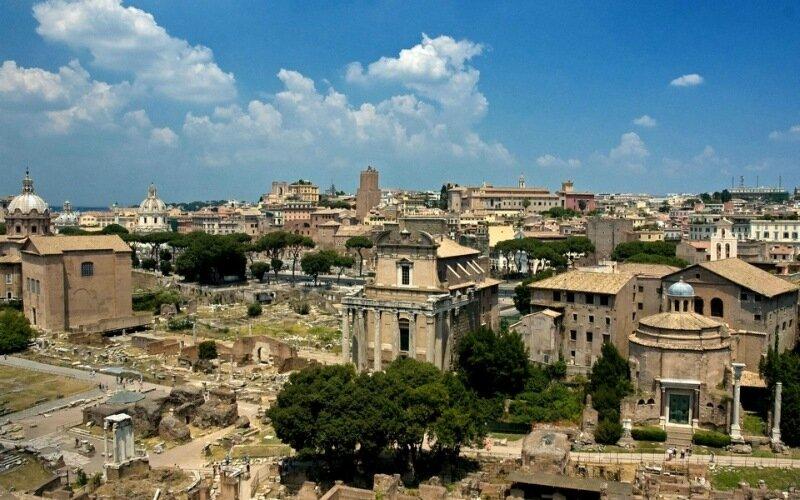 Красивые фотографии из самого сердца Рима, Италия