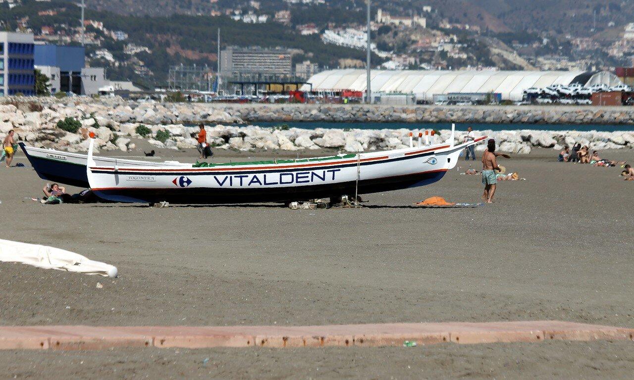 Малага. Пляж Сан-Андерс (Playa de San Andrés)