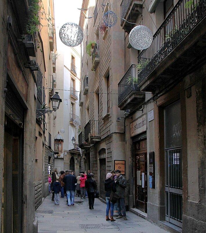 Barcelona. Baixada de Santa Eulàlia