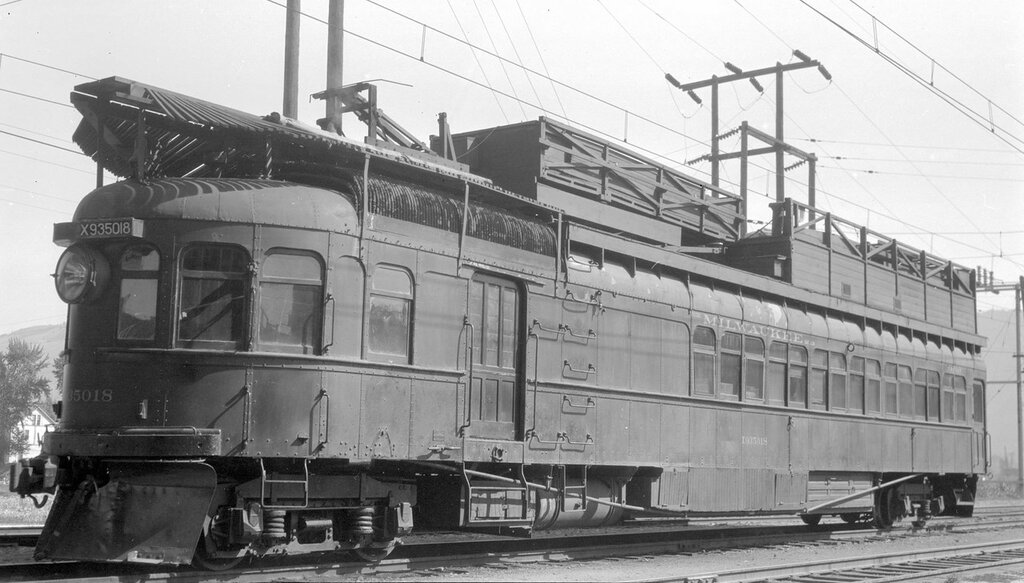 Chicago, Milwaukee, St. Paul & Pacific motor car 3754, repair service, engine number X935018, engine type GE. Missoula, Mont., September 27, 1931.