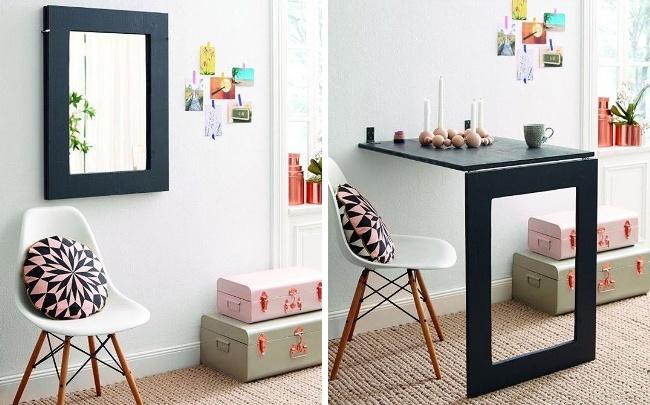 © homestory  Даже вмаленьком пространстве можно оборудовать укромный уголок для работы иразм